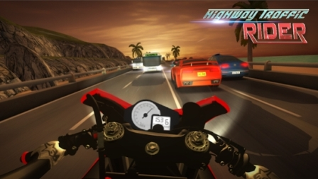 Download Highway Traffic Rider Mod Apk Tanggasurga