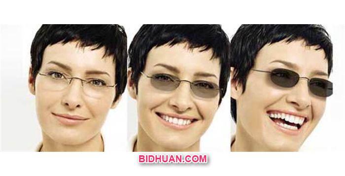 lensa kacamata berubah warna