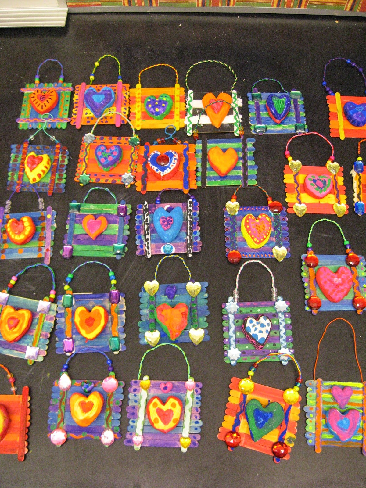 Jamestown Elementary Art Blog: 3rd Grade Jim Dine Heart ...