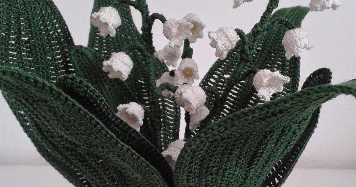 Il blog di sam how to crochet a lily of the valley for Il blog di sam piante grasse