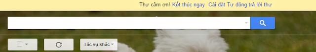 Hướng dẫn tạo thư trả lời tự động trong Gmail 2016