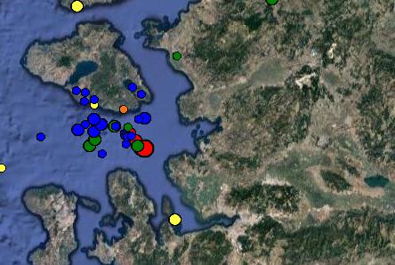 Σεισμός 4,8 βαθμών και πάλι στην Λέσβο -  Καθησυχάζουν οι ειδικοί