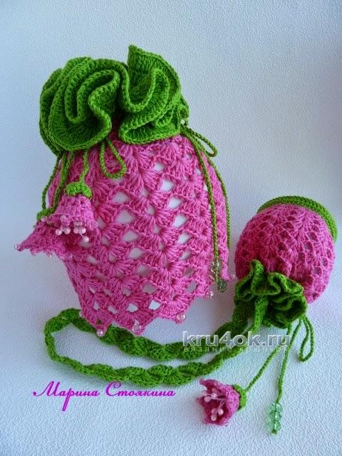 0659948277f7 Как хорошо уметь вязать: Шапочка и сумочка для девочки — работа ...