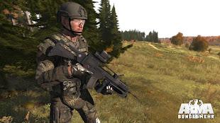 arma3向けドイツ連邦軍MOD G28E2 開発中画像