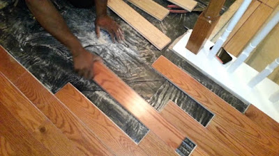 Installing Unfinished Hardwood Flooring