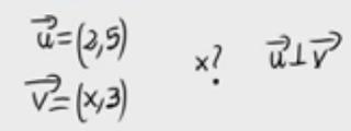 18.Cálculo de parámetro para que dos vectores sean ortogonales