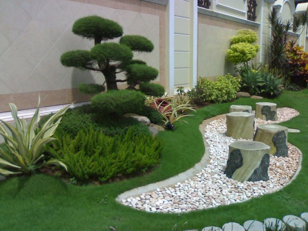 Amazing Garden Designs That Use Rocks And Stones Part 52