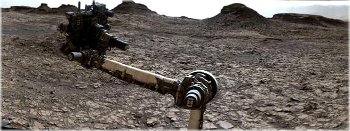 Região de Marte parecida com o Deserto do Atacama