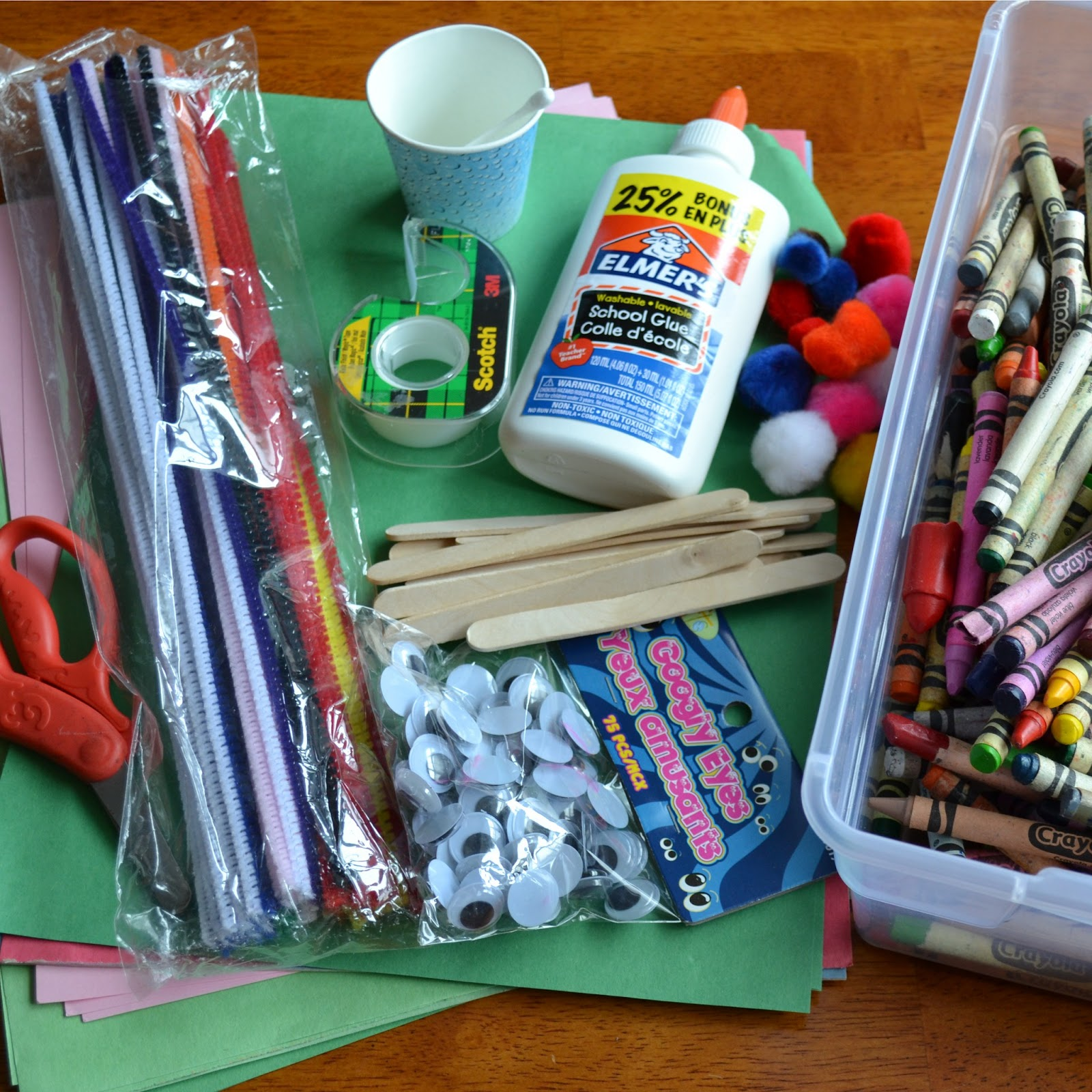 East coast mommy 5 tips for crafting with toddlers and for Craft kits for preschoolers