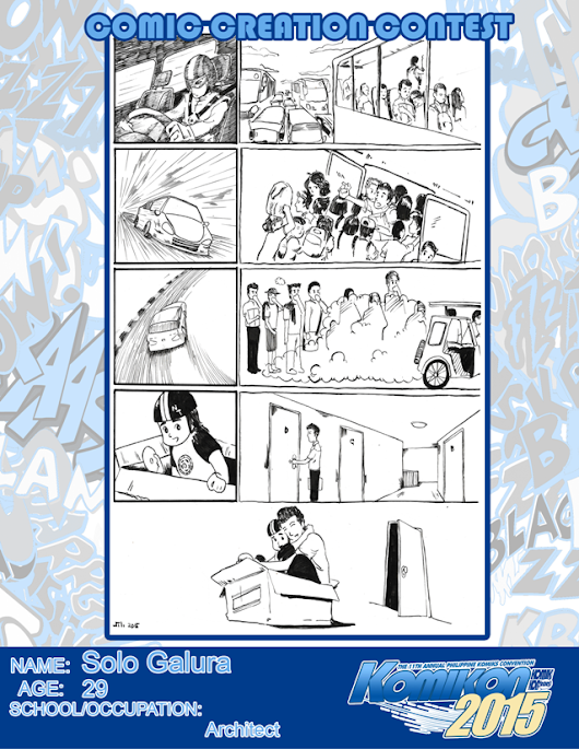 SUNGDU-AN: Traffic: KOMIKON Comic Creation Contest