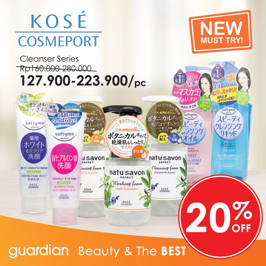 Guardian - Promo Diskon 20% OFF Produk Kose Cosmeport