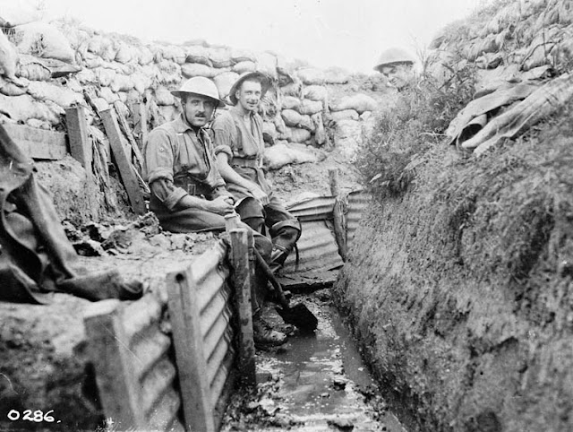 Primera Guerra Mundial, Trincheras