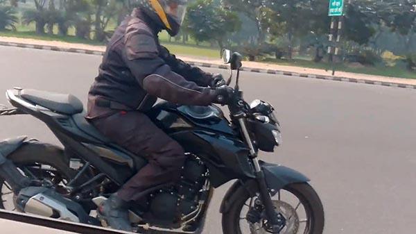Yamaha MT25 Atau Byson FI 2017 Ketahuan Sedang Ditest