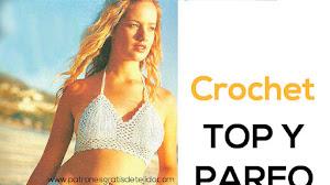 Top y Pareo Crochet / Paso a paso con explicaciones en Español