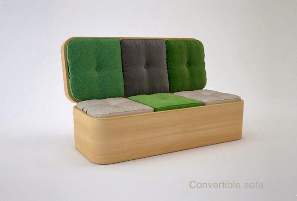 أريكة مذهلة يمكن تحويلها إلى مائدة طعام
