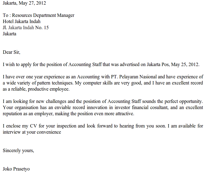 Lowongan Kerja Toko Karawang Info Resmi Lowongan Kerja Bulan Agustus 2016 Bumn Dan Contoh Surat Lamaran Kerja Bahasa Inggris Job Application Letter