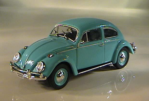 VW Escarabajo Volkswagen tuning oro negro 1//24 maisto modelo coche con o sin en