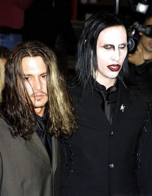 Marilyn Manson y Johnny Depp