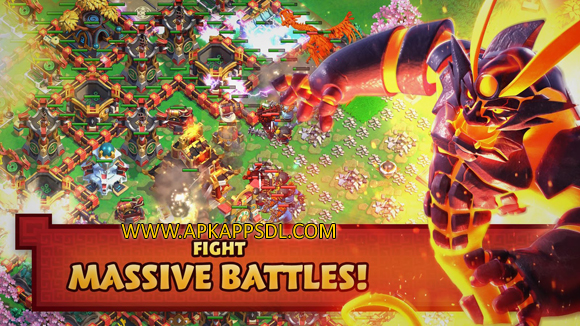 Download Samurai Siege Alliance Wars Apk Mod v1448.0.0.0 Full Version 2016