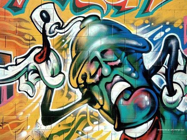 Street Art sekilas grafity