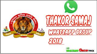 All Thakor samaj whatsapp group link colection 2018