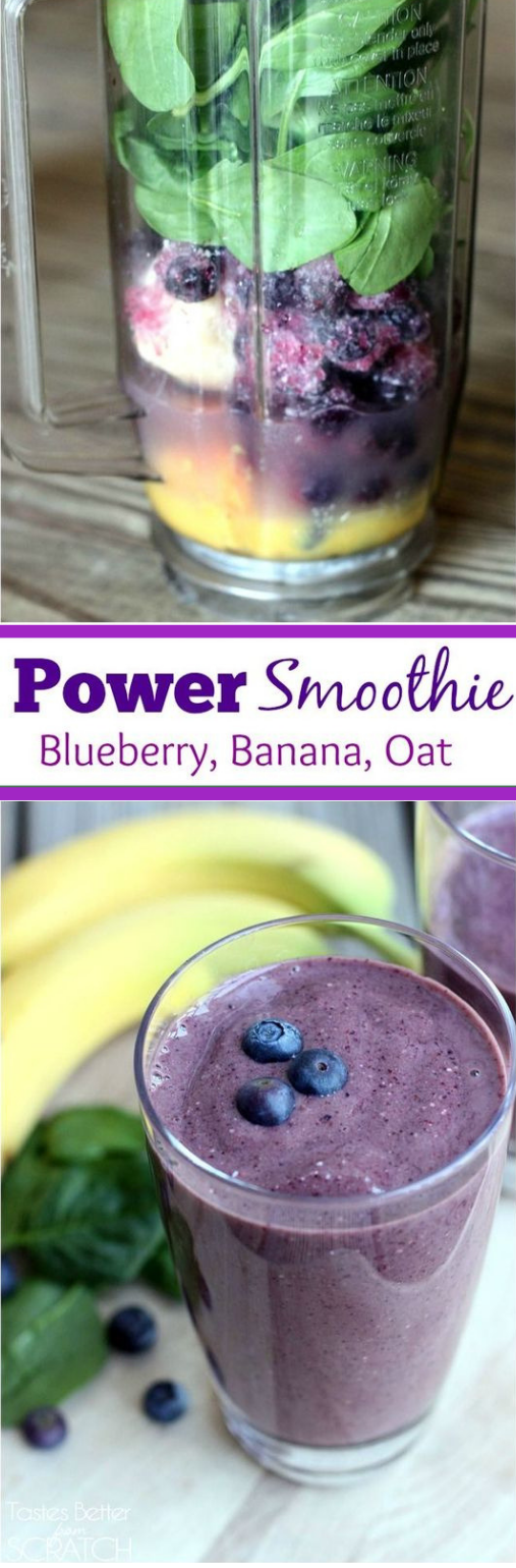 POWER SMOOTHIE #drink #smoothie