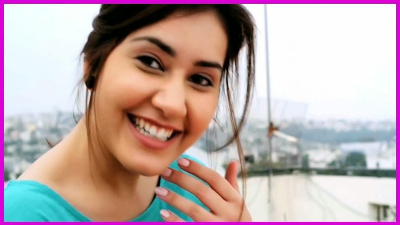 Rashi Khanna Funny Face Expression Stills
