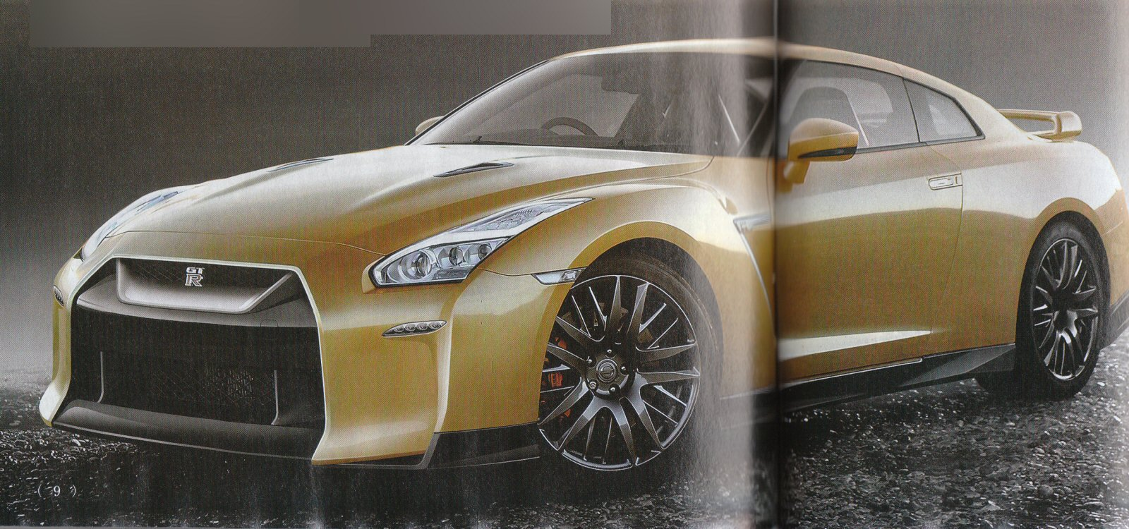 Japanese Mag Thinks Nissans Facelifted 2017 R35 GT R Will