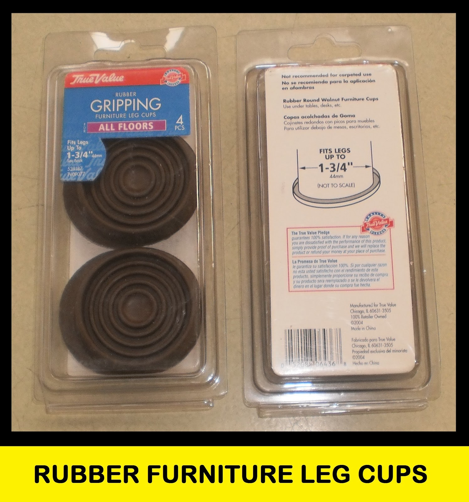 Cups For Chair Legs Cheap Pc Gaming Chairs Get Funtastic Deals Truevalue Round Rubber