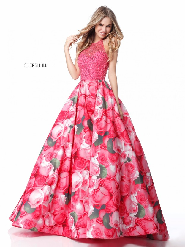 The Fashion Blog!: Prom Dress Trend for 2018: Floral Prints