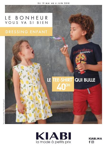 catalogue kiabi maroc mai juin 2018