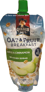 Quaker Oats Oat & fruit to go Apple and Cinnamon
