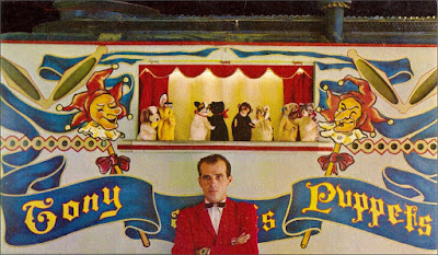 Tony Kemeny and his Puppets, Knott's Berry Farm -Orange County Archives