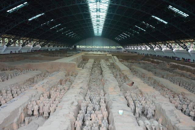 Mausolée de Qing à Xi'an