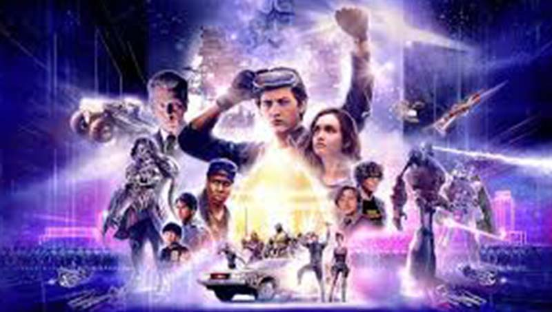 Ready Player One 2018 720p HDRip Movie Poster