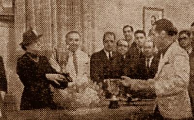Entrega de premios del Trofeo Puig i Puig 1941