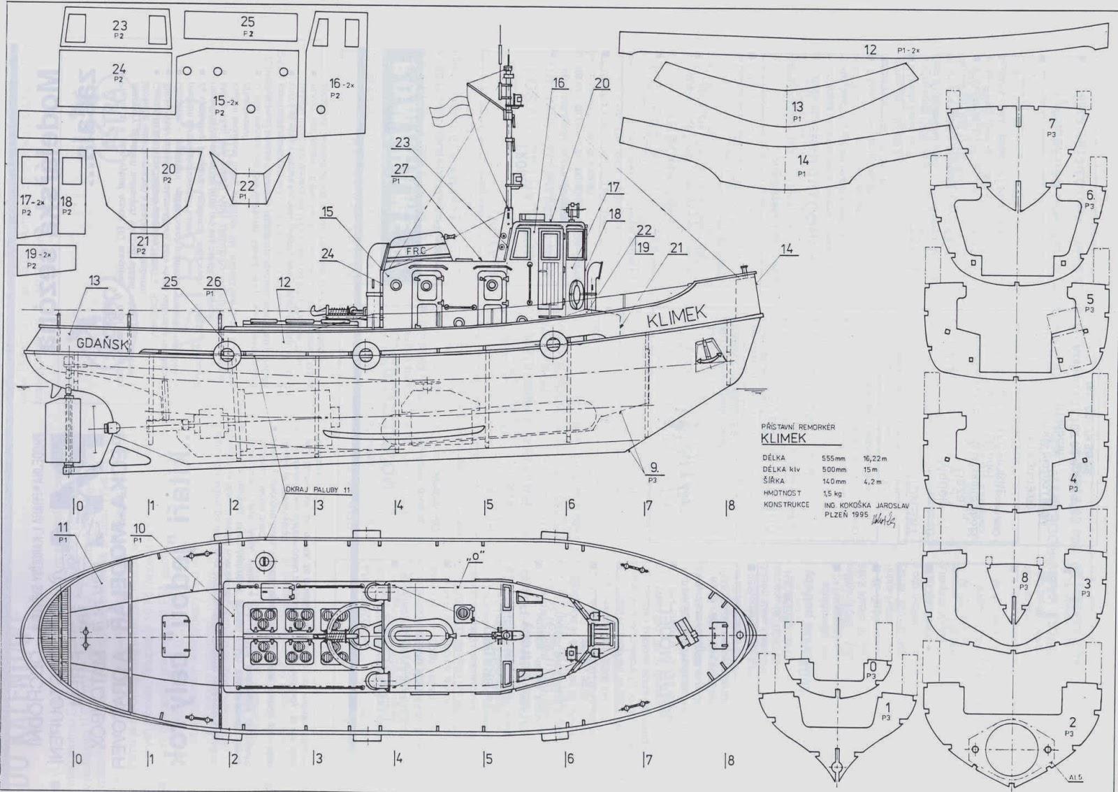 "Tug Boat ""Klimek"" ~ My Hobby Pages"