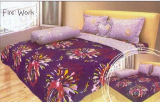 Sprei internal motif fire work