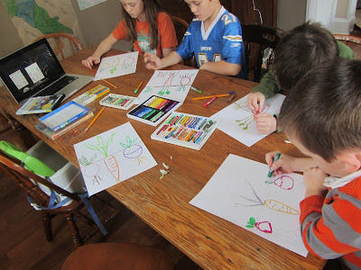 Home Art Studio: Review and Bit-ol'-giveaway! {The Unlikely Homeschool}