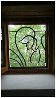 model kusen dan jendela kamar terbuka