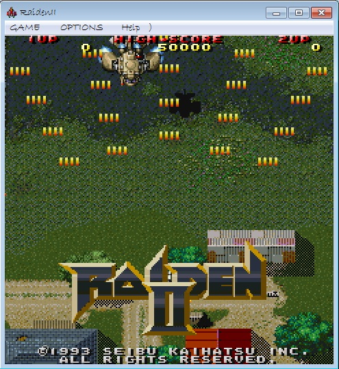 game dingdong raiden 2 (game perang pesawat) - Gudang
