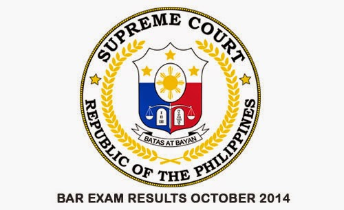 2014 Bar Exam results Philippines Bar Passers (A – B – C – D)