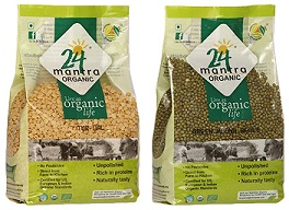 Organic Pulses: Upto 35% Off on Tur Dal, Moong Dal, Chana Dal (Hurry!! Limited Period Deal)