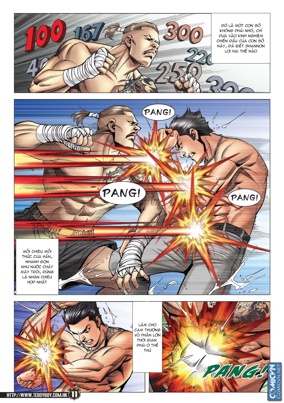Người Trong Giang Hồ chapter 2143: ác chiến vua muay thai trang 9