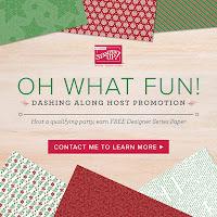 Stampin' Up! 2018 Holiday Catalog ~ Dashing Along Host Designer Paper