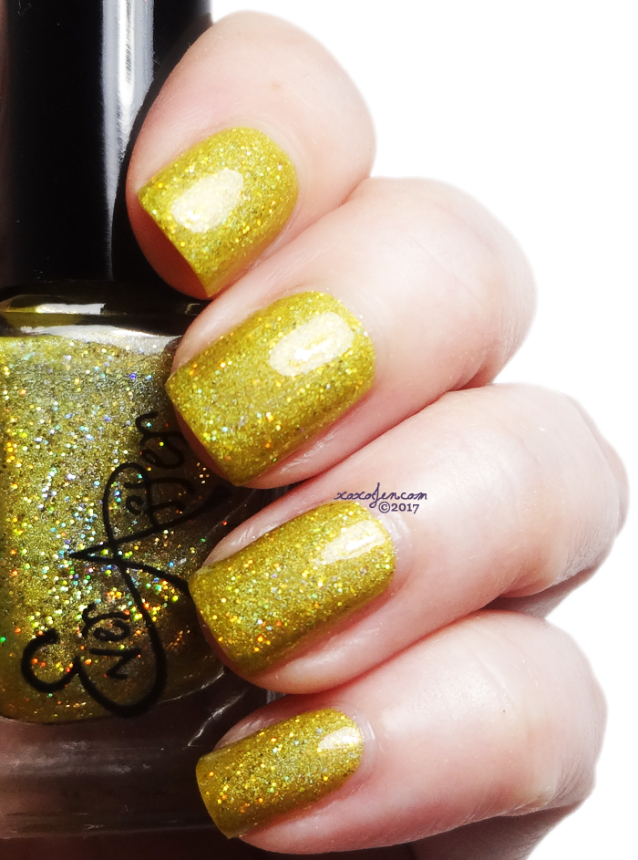 xoxoJen's swatch of Ever After Yellow Submarine