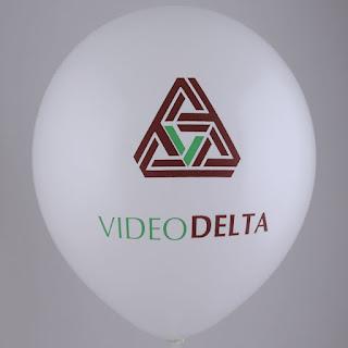 печать логотипа на воздушном шаре