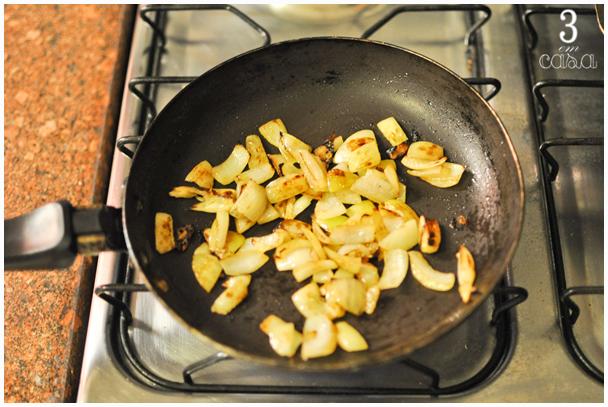 como fazer molho de cebola