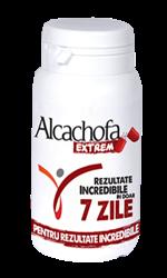 poza cutia capsulelor de slabit Alcachofa extrem produse in Romania cu extract de anghinare de Laboratoarele Medica Bucuresti