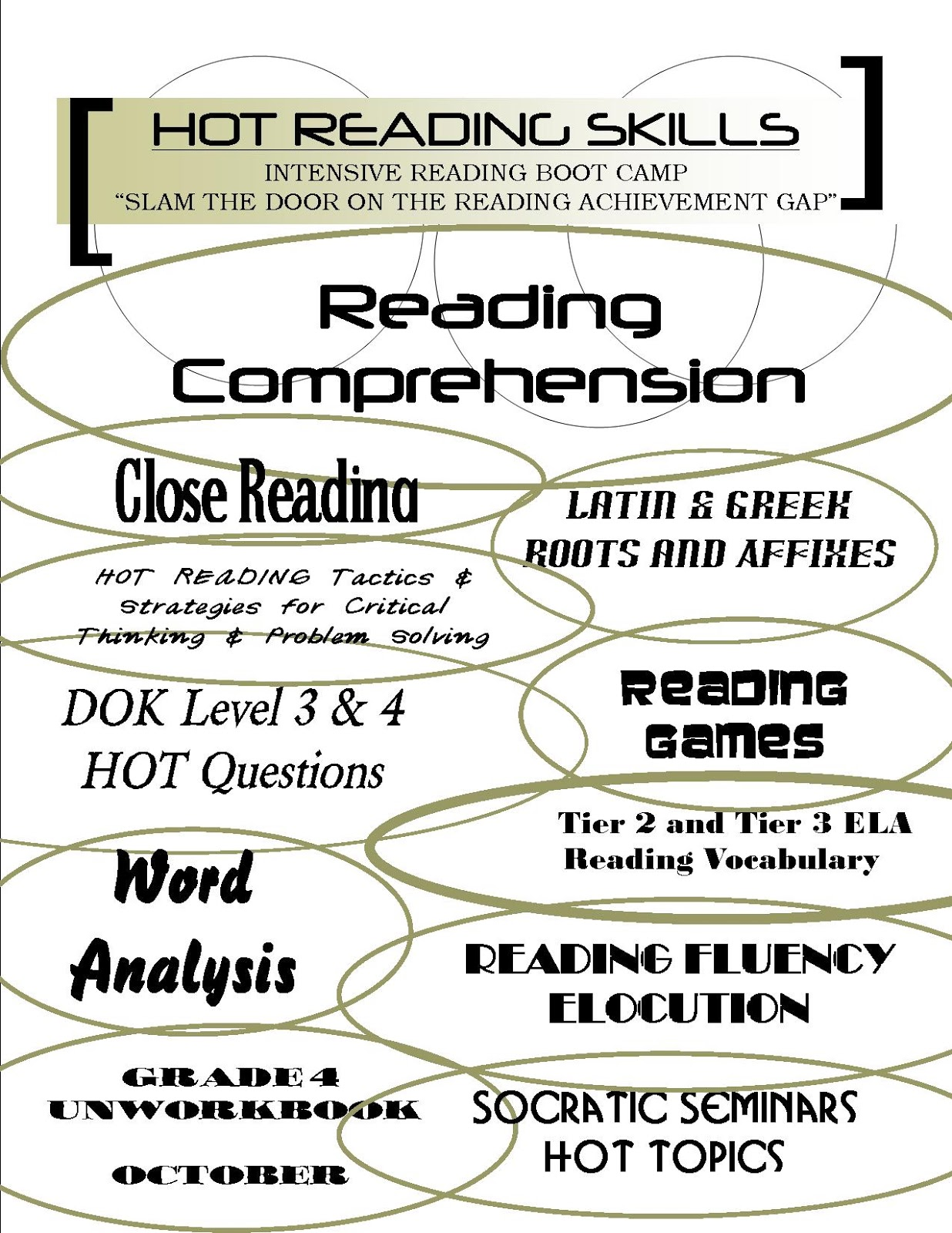 hight resolution of Reading Sage: FLUENCY DRILLS 4TH/5TH GRADE